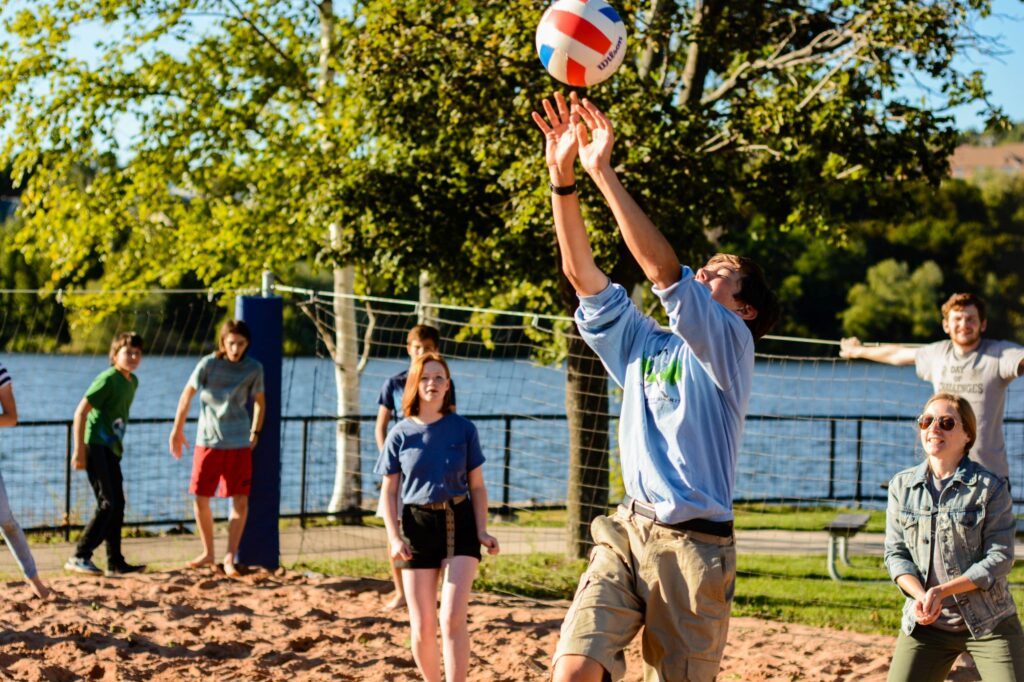 Thrive sand volleyball